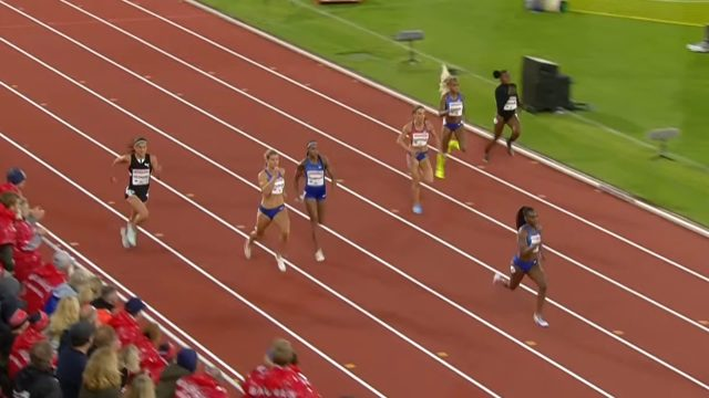 Elaine Thompson finishes second in Stockholm 200m Diamond League race