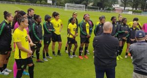 Reggae Girlz to Play their first FIFA World Cup match Sunday