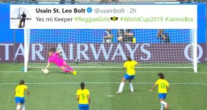 Despite the outcome, what an outstanding performance by Reggae Girl Sydney Schneider