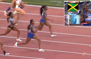 Elaine Thompson wins 100m Rome Diamond League in world-leading time