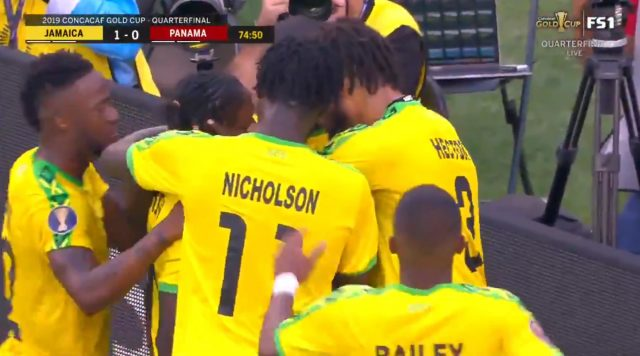 Jamaica defeats Panama 1-0, advance to Gold Cup Semi-finals