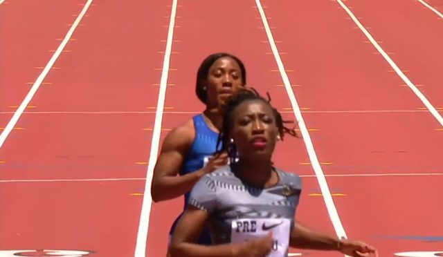 Shelly-Ann Fraser-Pryce shocks fans, commentators during Eugene Diamond League