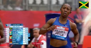 Shelly-Ann Fraser-Pryce runs 10.78, wins London Diamond League 100m