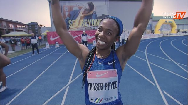 Shelly-Ann Fraser-Pryce wins 100m in Italy ahead of Pan Am Games