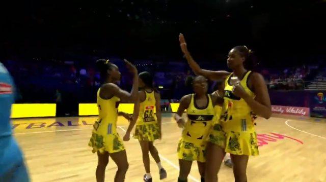 Jamaica defeats Fiji 85-29 in their first Netball World Cup match