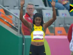 Elaine Thompson wins 100m semifinal, advances to Pan AM Games final