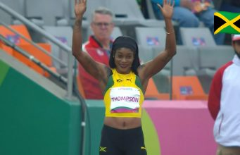 Elaine Thompson wins 100m semifinal, advances to Pan AM Games final
