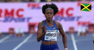 Elaine Thomspon wins 100m at Paris Diamond League