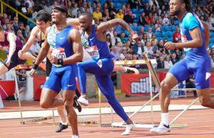 Omar McLeod wins 110m Hurdles at Birmingham Diamond League