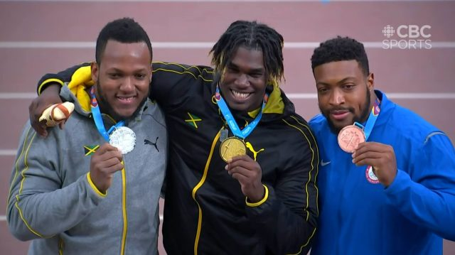Fedrick Dacres Breaks Pan AM Games Record, wins gold, Traves takes silver in Discus Throw