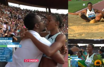 Watch: Shanieka Ricketts wins Triple Jump at Zurich Diamond League