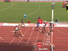 Shelly-Ann Fraser-Pryce finishes third in Birmingham Diamond League 200m