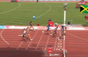 Shelly-Ann Fraser-Pryce finishes third in Birmingham Diamond League 200m