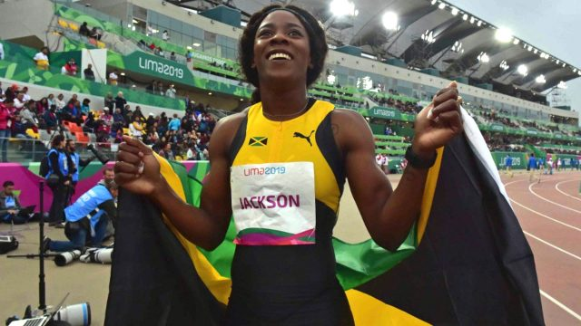Watch Shericka Jackson win Pan Am 400m GOLD