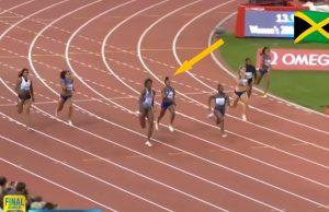 Elaine Thompson finishes 3nd in Zurich Diamond League 200m