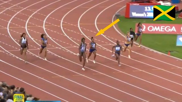 Elaine Thompson finishes 3nd in Zurich Diamond League 200m
