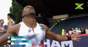 Yohan Blake wins 100m at Birmingham Diamond League