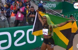 Shelly-Ann Fraser-Pryce wins Pan Am 200m Gold