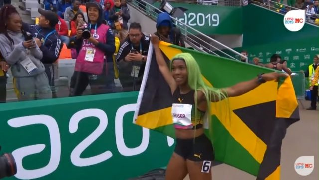 Shelly-Ann Fraser-Pryce wins Pan Am 200m Gold