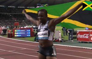 Danielle Williams Wins 100m Hurdles at Brussels Diamond League