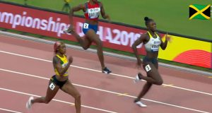 Watch: Elaine Thompson qualifies for 200m semi-final at World Champs