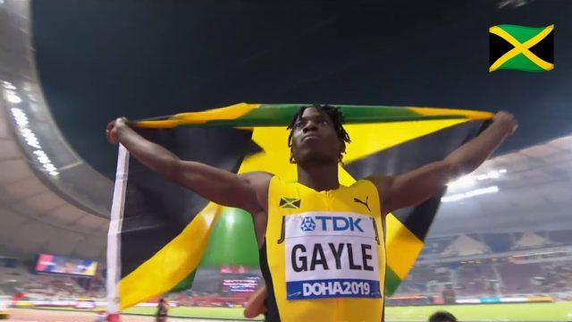Watch: Tajay Gayle wins GOLD, Long Jump World ChampionGold, Makes History in Doha