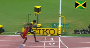 Team Jamaica wins 1st Mixed 4x400m Relay Silver medal at World Championships