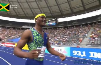 Watch: Omar McLeod wins 110m Hurdles in Berlin IAAF World Challenge