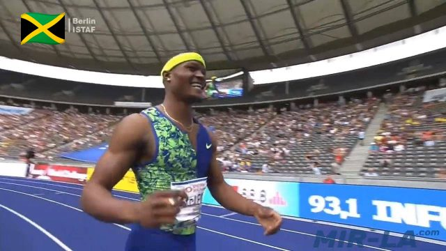 Watch: Omar McLeod wins 110m Hurdles in Berlin IAAF World Challenge