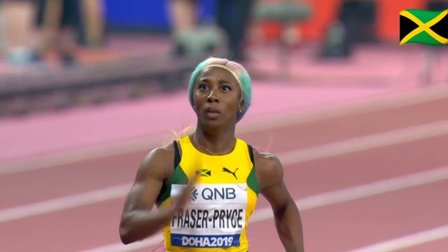 Watch: Shelly-Ann Fraser-Pryce wins 100m semi, qualifies for Final At World Champs