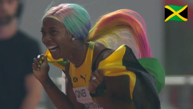 Watch: Shelly-Ann Fraser-Pryce wins GOLD at Doha World Championships