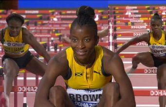 Watch: 3 Jamaicans advance to Women's 100m Hurdles Final