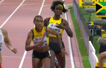 Watch: Team Jamaica Wins Women's 4x400m Relay Bronze At World Champs