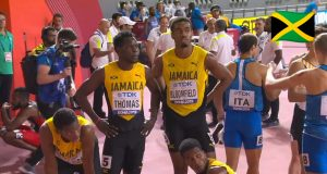 Watch: Team Jamaica Wins Silver in Men's 4x400m Relay At World Champs