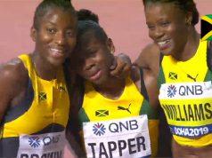 Watch: Danielle Williams wins 100m hurdles Bronze at World Championship