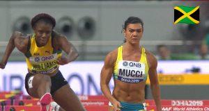Watch: Danielle Williams wins 100m Hurdles heat at World Champs