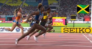 Watch: Danielle Williams wins 100m Hurdles semi, advances to World Champs Final