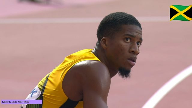 Watch: Demish Gaye Qualifies For 400m Semi-Finals At Doha World Champs