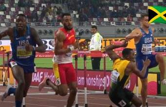 Watch: Omar McLeod crashes in 110m final at World Champions