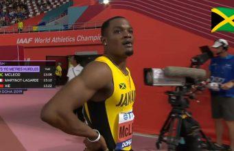 Watch: Omar McLeod Wins 110m Hurdles Semifinal at World Champs