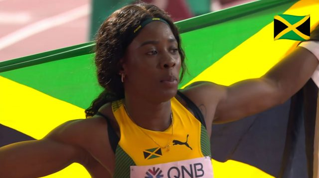 Shericka Jackson WINS 400m Bronze for Jamaica at World Champs