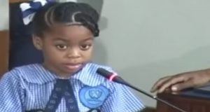 Watch children address Parliament on violence for the first time in Jamaica's history