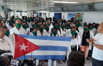 140 medical professionals from Cuba arrive in Jamaica to help fight against COVID-19