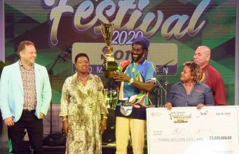 Watch: Buju Banton wins Jamaica Festival Song contest his entry 'I am a Jamaica'
