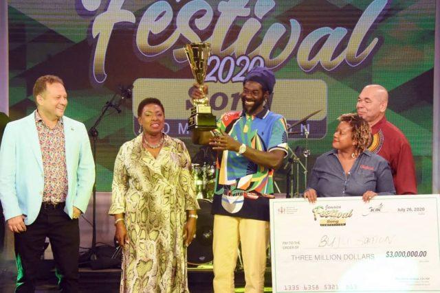 Watch: Buju Banton wins Jamaica Festival Song contest his entry 'I am a Jamaica'