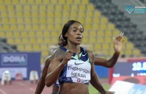 Watch: Elaine Thompson-Herah Wins 100m Doha Diamond League