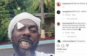 Buju Banton calls for an end to mask-wearing in Jamaica, 'Who Fi Dead Ago Dead'