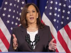 Kamala Harris, daughter of a Jamaican, becomes the USA first black, woman vice president.
