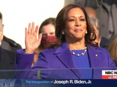 Kamala Harris sworn in as vice president