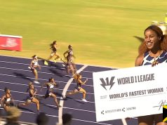 Briana Williams breaks National Junior 100m Record with 10.98s in Florida